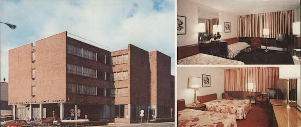 Bayberry Great Neck Hotel New York Postcard