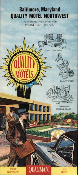 Quality Motel Northwest Baltimore Maryland