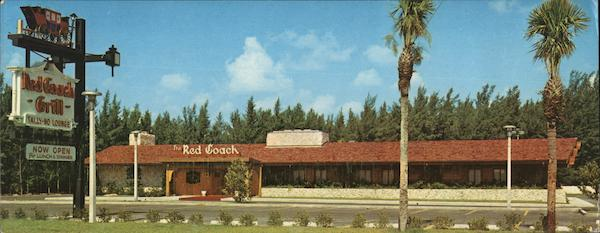 Red Coach Grill Miami Beach Florida