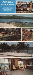 Still Waters Beach & Resort Large Format Postcard