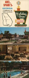 Holiday Inn Adel-Spark's Large Format Postcard
