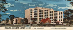 Howard Johnson's Motor Lodge & Restaurant Large Format Postcard