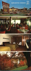 Best Western Redwood and Pot Belly Restaurant Large Format Postcard