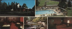 Cedar Terrace Resort Large Format Postcard