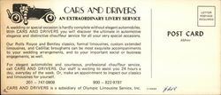 Cars and Drivers' Livery Service