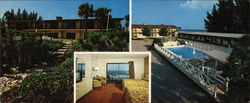 Ocean Shore Motel Large Format Postcard
