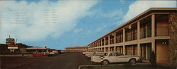 Country Club Motor Inn Large Format Postcard