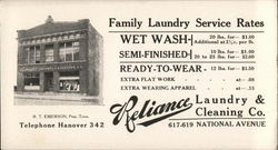 Reliance Laundry & Cleaning Co.