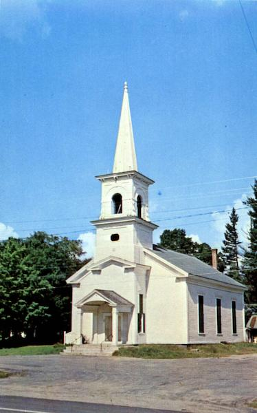 Congregational Church Andover Maine