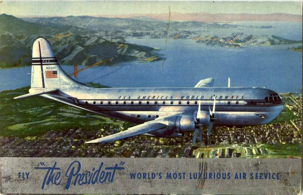 Pan Am The President World's Most Luxurious Air Service