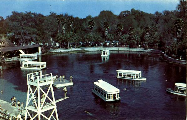 Glass Bottom Boats at Silver Springs State Park in Florida