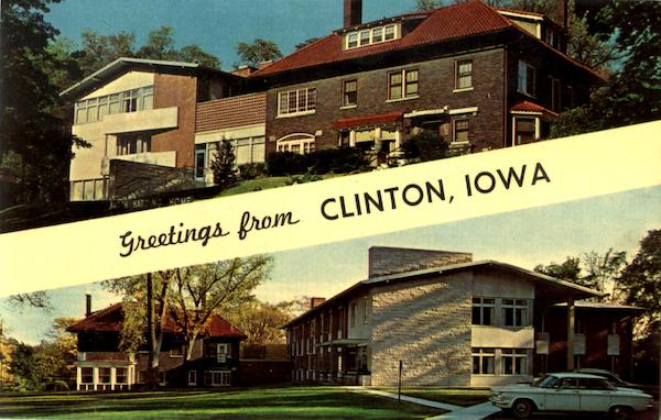 Greetings From Clinton Iowa