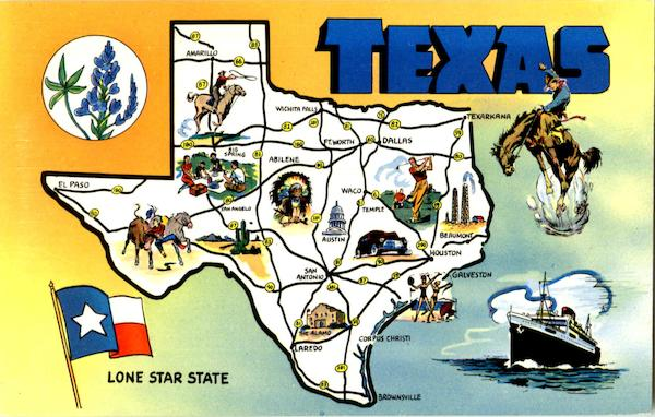 Texas Long Star State