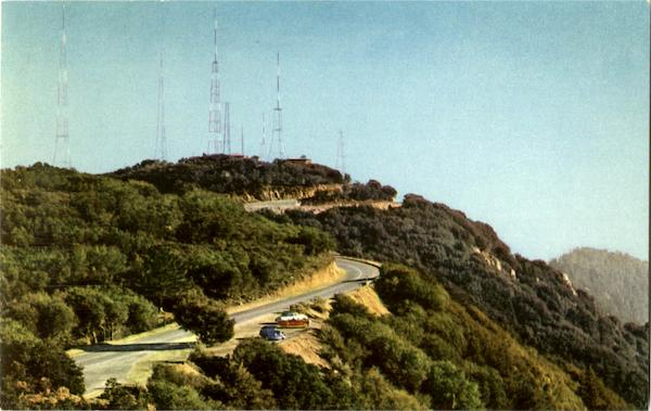 Television Transmitters Mt. Wilson California