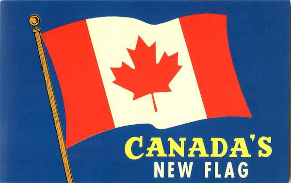 Canada's New Flag Flags