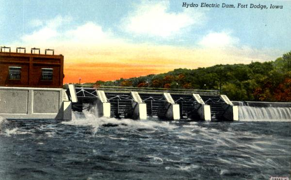 Hydro Electric Dam Fort Dodge Iowa