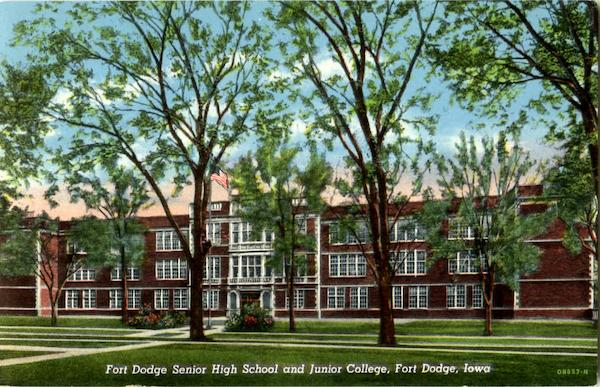 Fort Dodge Senior High School And Junior College Iowa