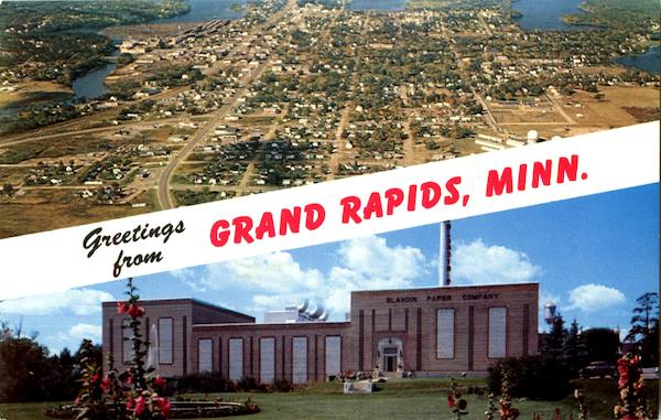 Greetings From Grand Rapids Minnesota
