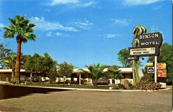 Benson Motel, 3314 E. Benson Highway Tuscon Arizona