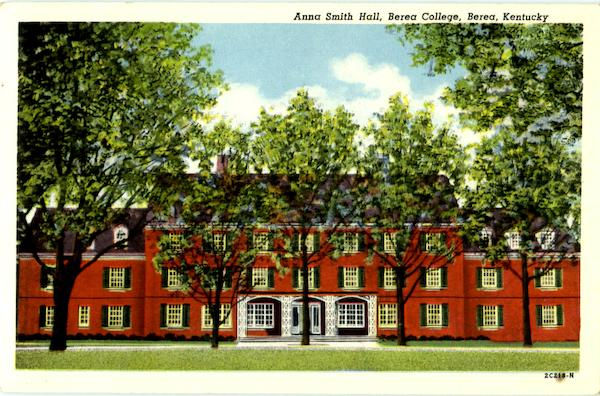 Anna Smith Hall, Berea College Kentucky