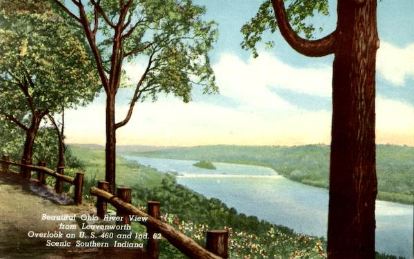 Beautiful Ohio River View From Leavenworth Louisville Kentucky