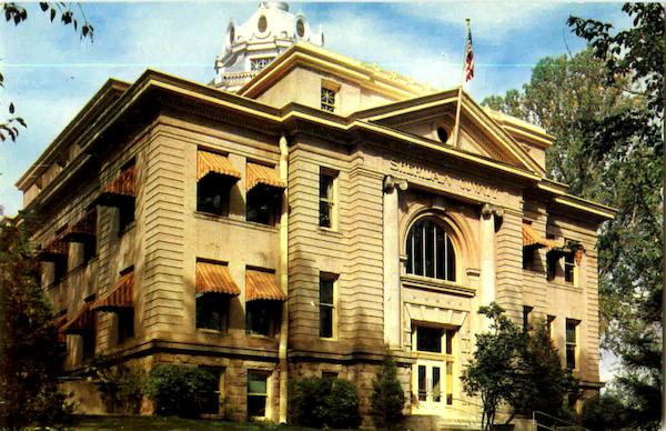 Sheridan County Court House Wyoming
