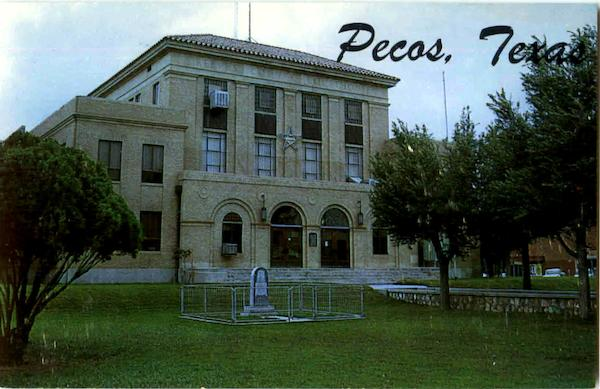 Reeves County Court House Pecos Texas