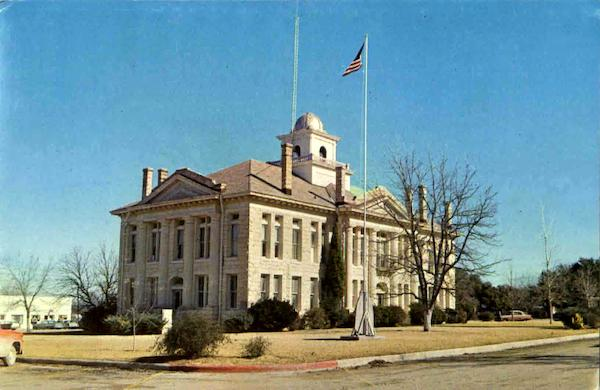 Blanco County Courthouse Johnson City Texas