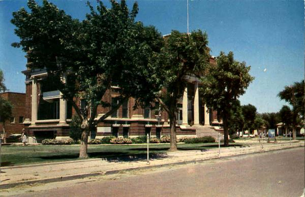 Dallam County Court House Dalhart Texas