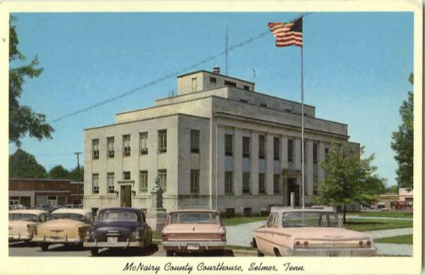 McNairy County Courthouse Selmer Tennessee
