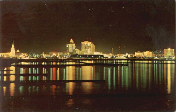 The Christmas Lights Of Corpus Christi Texas