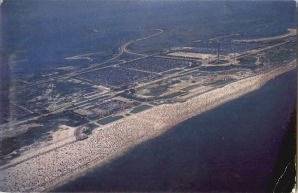 Air View Jones Beach Long Island New York