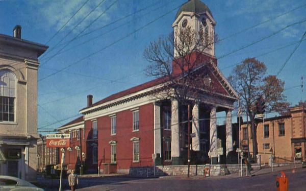 Famous Jefferson County Court House Charles Town West Virginia