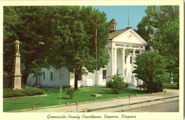Greensville County Courthouse Emporia Virginia