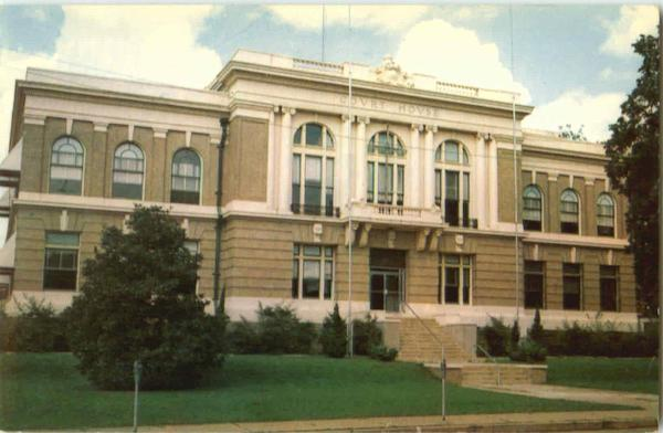 Desoto Parish Courthouse Mansfield Louisiana