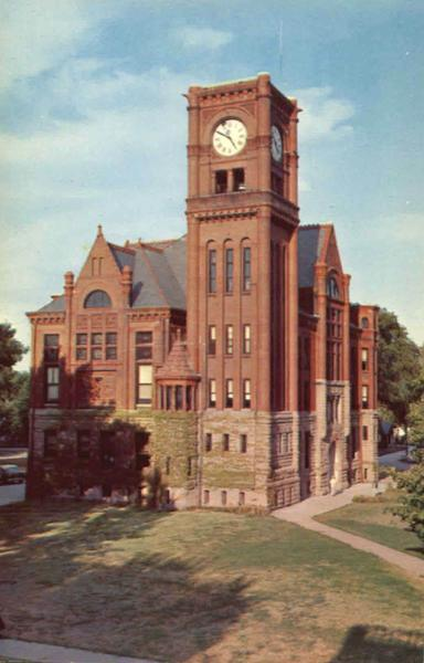Jefferson County Court House Fairfield Iowa