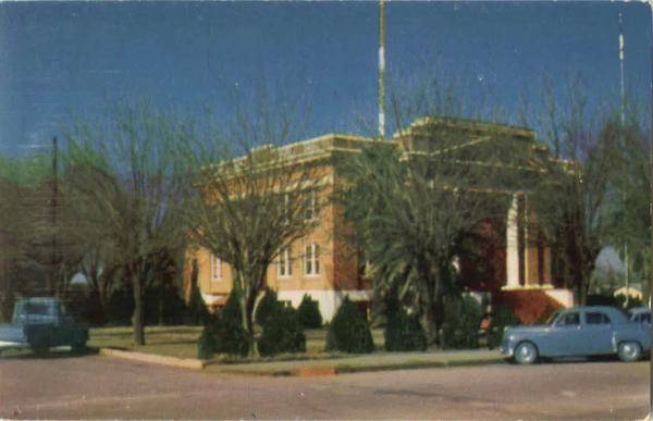 Graham County Court House, Highway 70 Safford Arizona