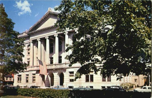 Rensselaer County Court House Troy New York