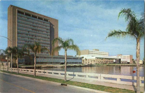City Hall And Duval County Court House Jacksonville Florida