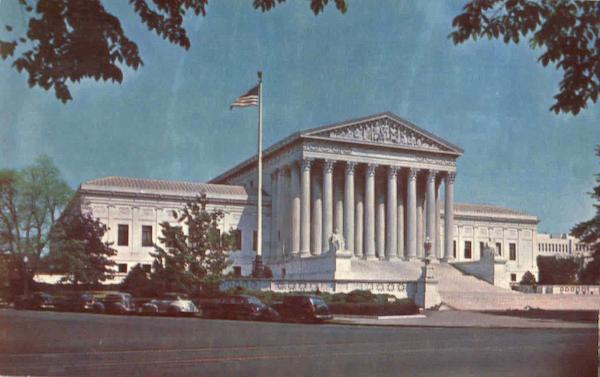 The Supreme Court Building , East Capitol Street and 1st Street Washington District of Columbia