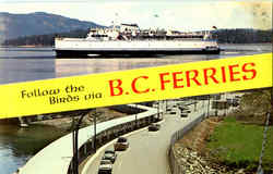 B. C. Ferries Postcard