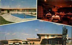 The Oklahoman Motel Postcard