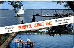 Greetings From Beautiful Detroit Lake