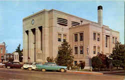 Caldwell County Courthouse Postcard