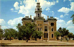 Shackelford County Courthouse Postcard