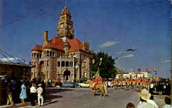 Court House And Public Square Postcard