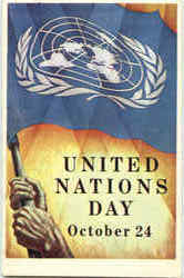 United Nations Day Poster 1953