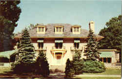 Governors Mansion Postcard