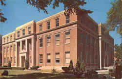 Audrian County Courthouse Postcard