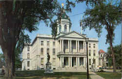 New Hampshire State House Postcard